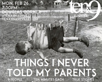 54-Things I Never Told My Parents