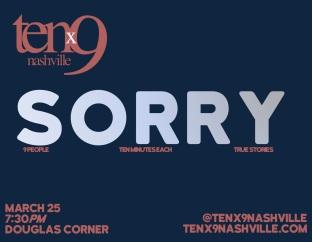 67- Sorry